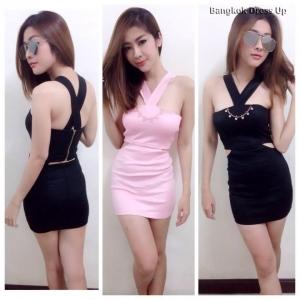 ชุดเดรสสั้น Bangkok Dress